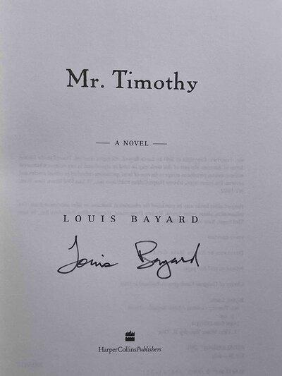 MR. TIMOTHY. by Bayard, Louis.