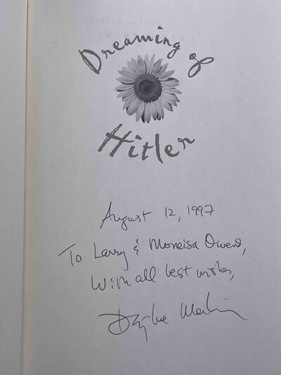DREAMING OF HITLER: Passions and Provocations. by Merkin, Daphne.