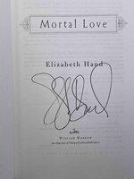 MORTAL LOVE. by Hand, Elizabeth.