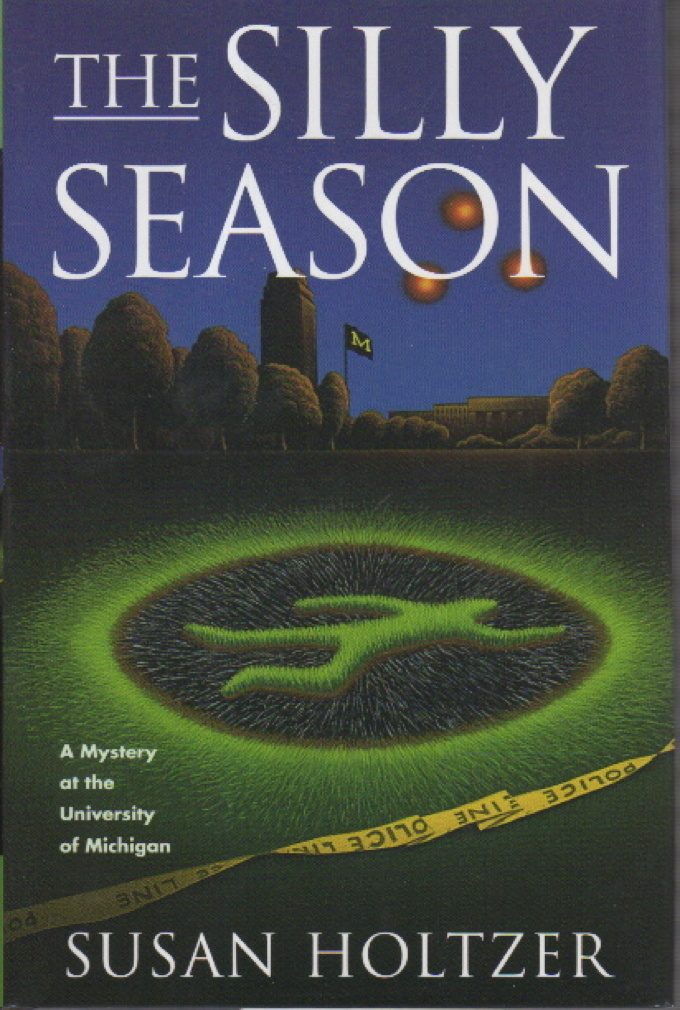 Book cover picture of Holtzer, Susan SILLY SEASON New York: St  Martin's, (1999.)